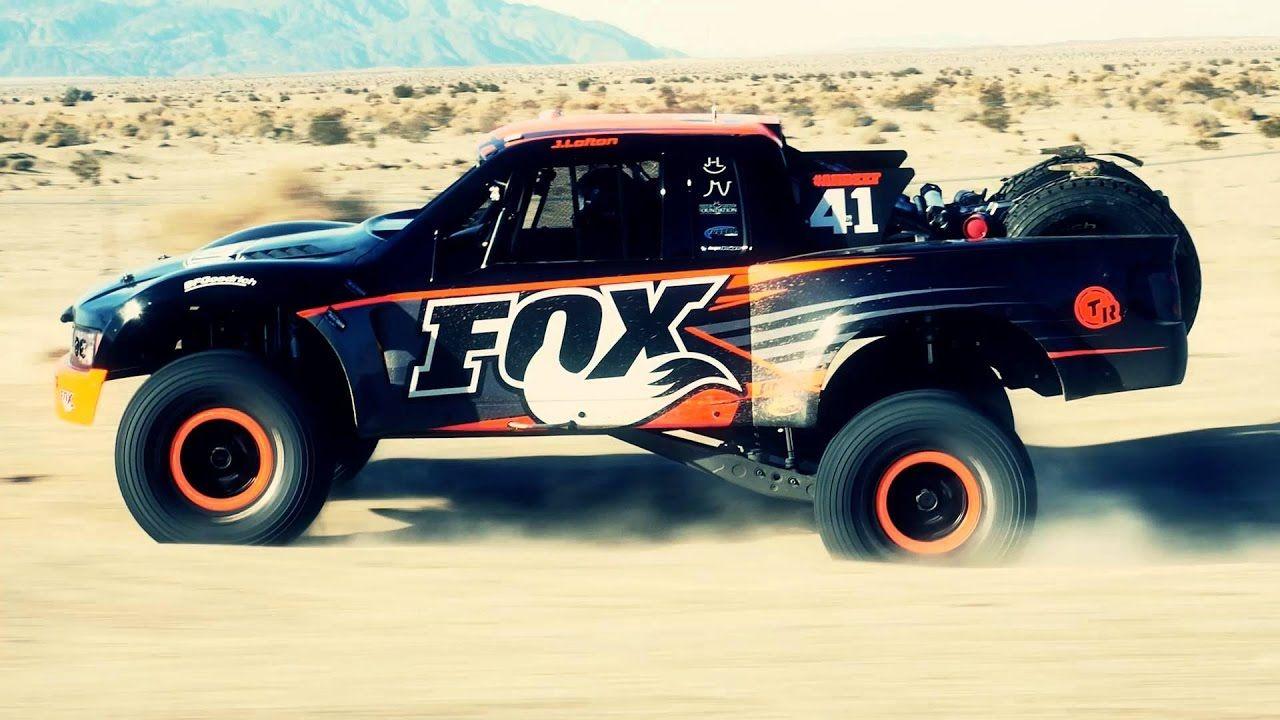 Axial Yeti Score Justin Lofton Trophy Truck Edition Trophy Truck Ride Fox Trucks