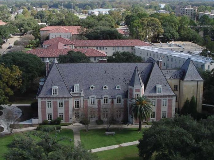 College Interior Design Plans honors college historic french house renovation, lsu | tipton