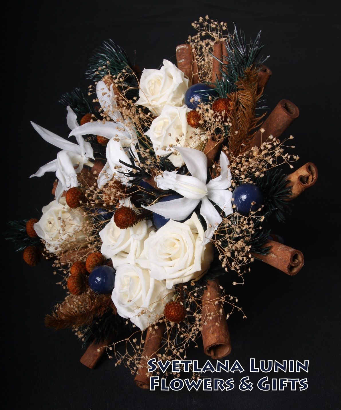 Wedding bouquet from preserved flowers executed by svetlana lunin wedding bouquet from preserved flowers executed by svetlana lunin israel izmirmasajfo