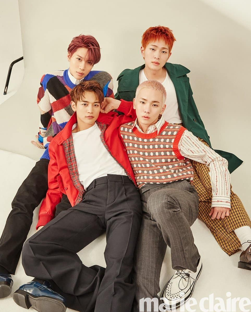 180518 SHINee 'Marie Claire' | SHINee in 2019 | Shinee