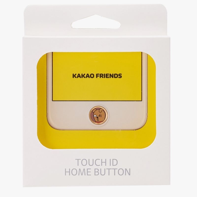 Kakao Friends Frodo Touch ID Home Button Sticker Apple iPhone iPad Mobile Laptop #KakaoFriends