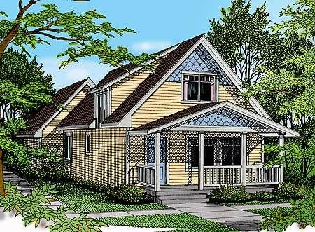 Plan 75082dd Craftsman Style House Plans Small Craftsman House Plans Craftsman House Plans