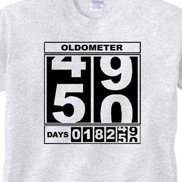 0a72d89b 50th BIRTHDAY T-Shirt