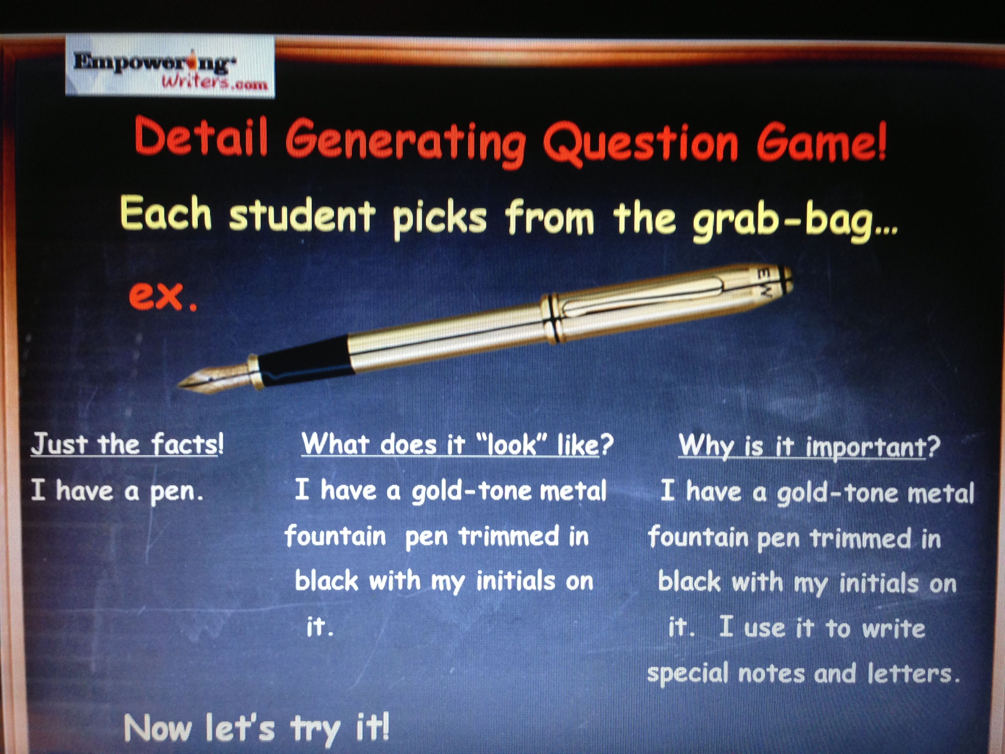 Elaborative Detail In Expository Writing