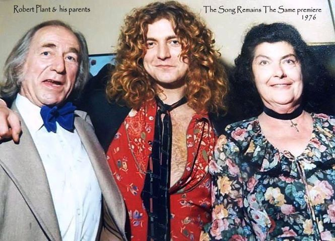 Image result for robert plant dad