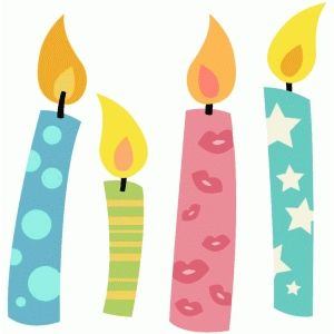 Birthday Candle Clip Art