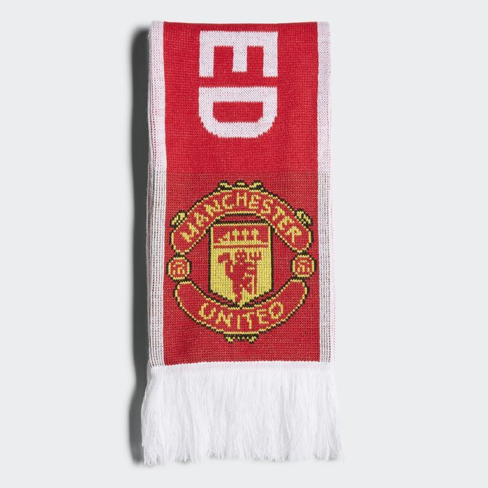 Manchester United Scarf | Products | Adidas three stripes