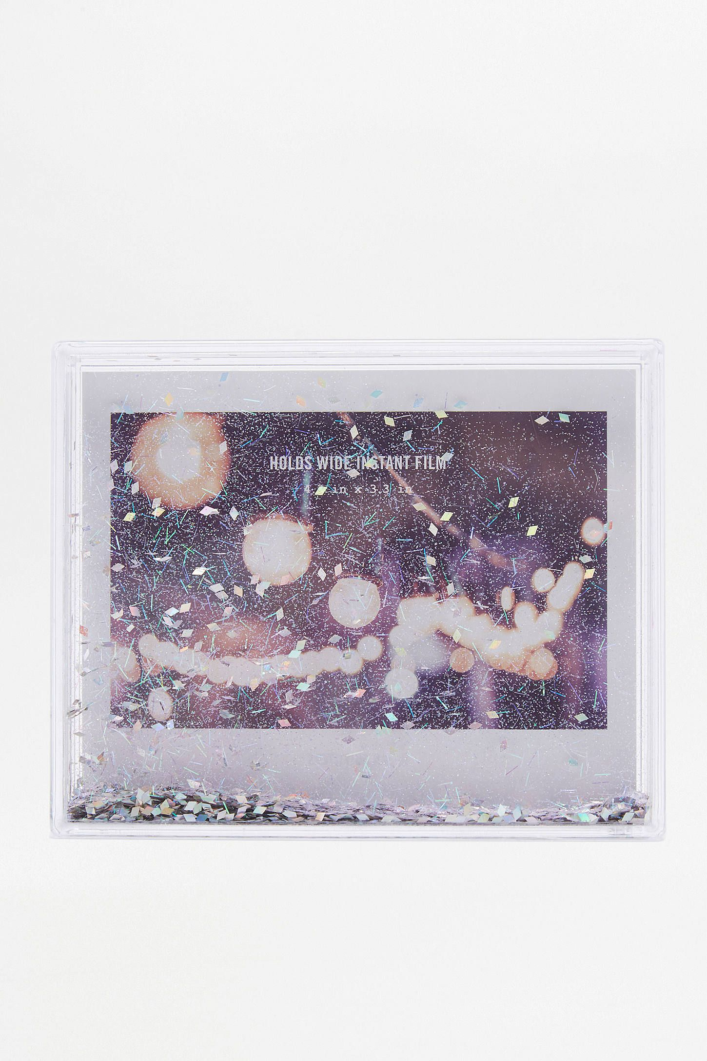 Holographic glitter instax wide frame instax wide shop holographic glitter instax wide frame at urban outfitters today we carry all the latest jeuxipadfo Images