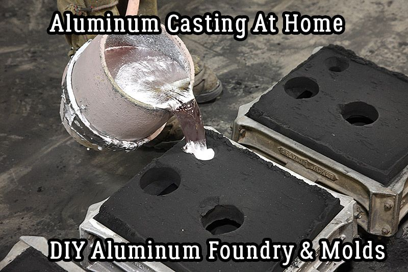 Have You Ever Imagined Melting Aluminum Yourself To Create