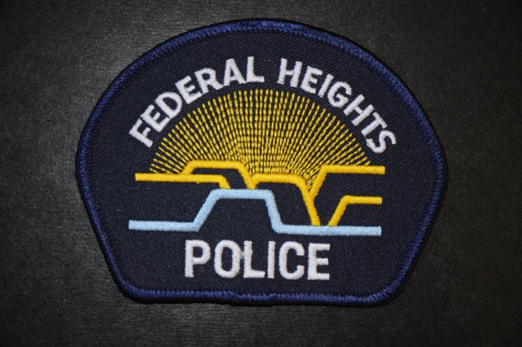 Federal Heights Police Department Police patches, Police