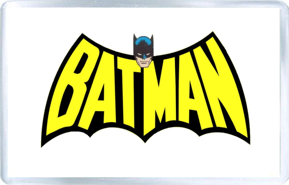 Batman - Logo - Fridge Magnet in 2020 | Batman, Batman ...