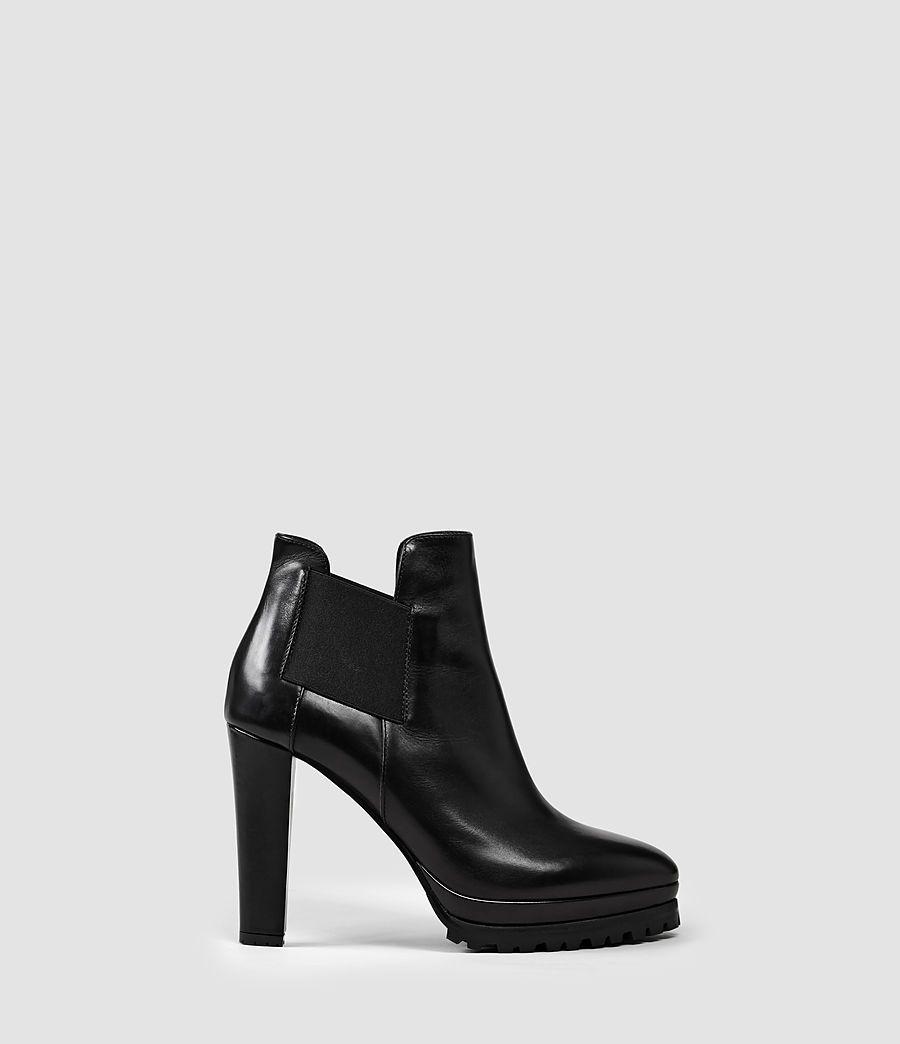 Womens Sarris Chelsea Boot (Black) - product_image_alt_text_1