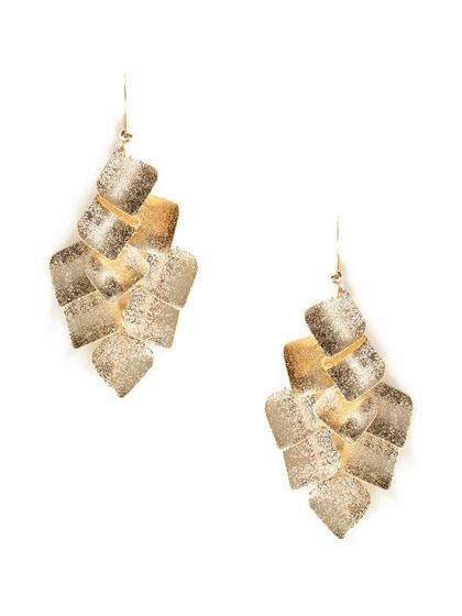Concave Chandelier Earrings by Leslie Danzis on Gilt.com