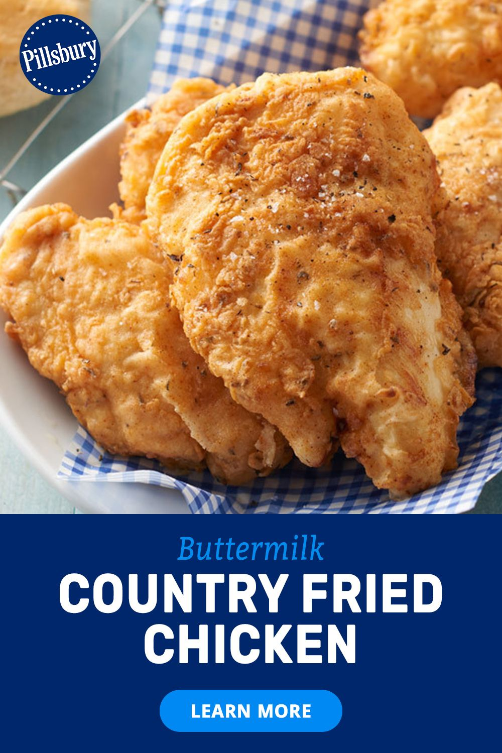 Buttermilk Country Fried Chicken Recipe In 2020 Country Fried Chicken Fried Chicken Country Fried