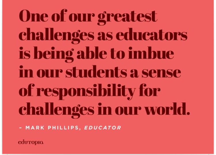 One of our greatest challenges at educators...