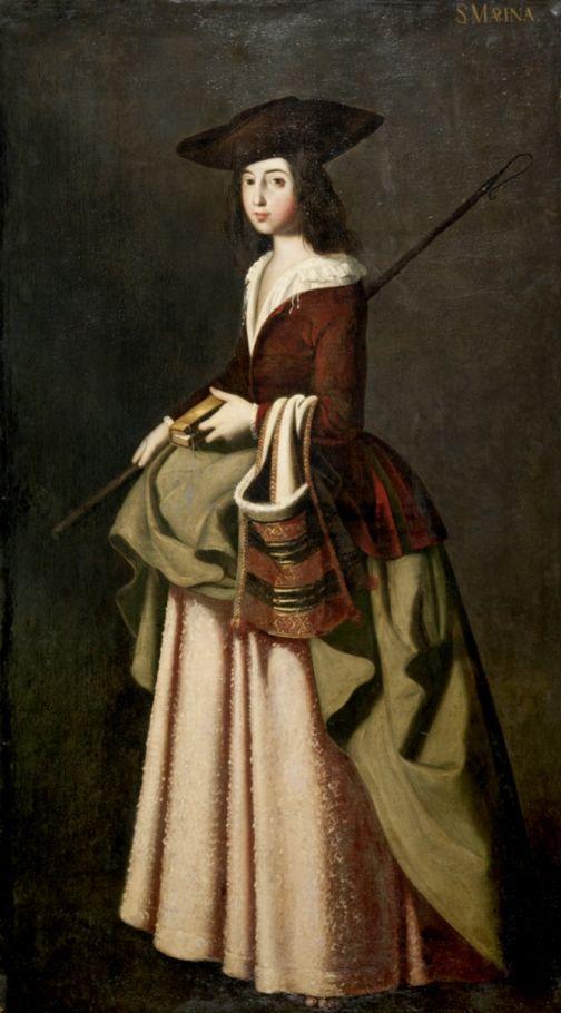 Santa Marina en 2020   Francisco de zurbaran, Mode du 18ème siècle et Portrait hommes