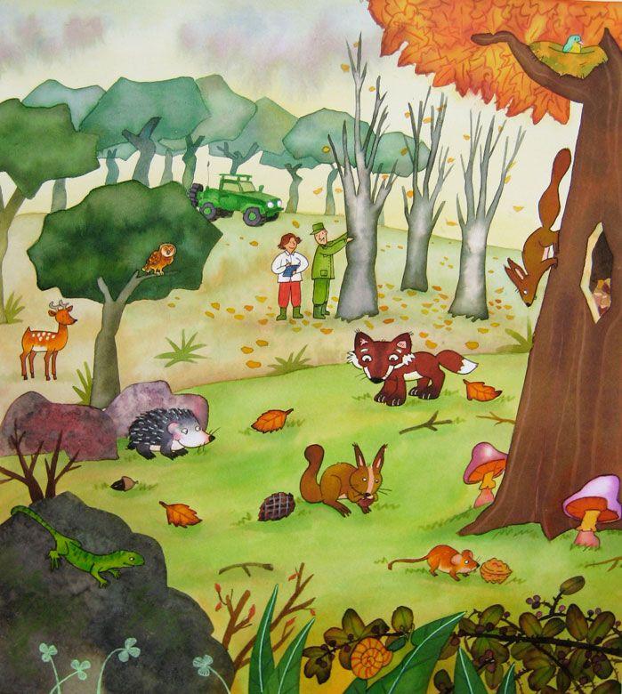 Resultado de imagen de el bosque infantil bosque for Dormitorio infantil bosque