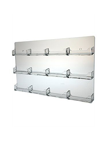 Marketing Holders Business Card Holder Wall Mount Rack 16 Https Www Amazon C Office Supplies Desk Accessories Work Space Organization Clear Business Cards