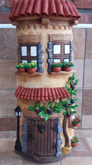 Mil anuncios com tejas decoradas casa y jard n tejas - Tegole decorate istruzioni ...