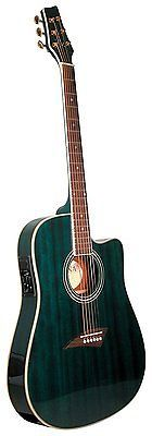 Travel Guitar Acoustic Best For Beginners Girls Electric Cutaway Kids Thin Body