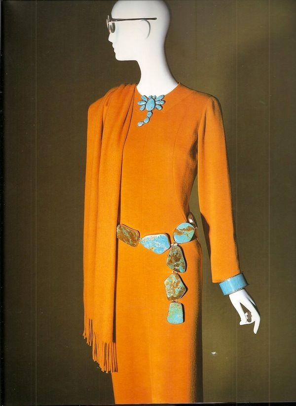 Iris Apfel, turquoise, photo by Eric Boman from Rare Bird of Fashion