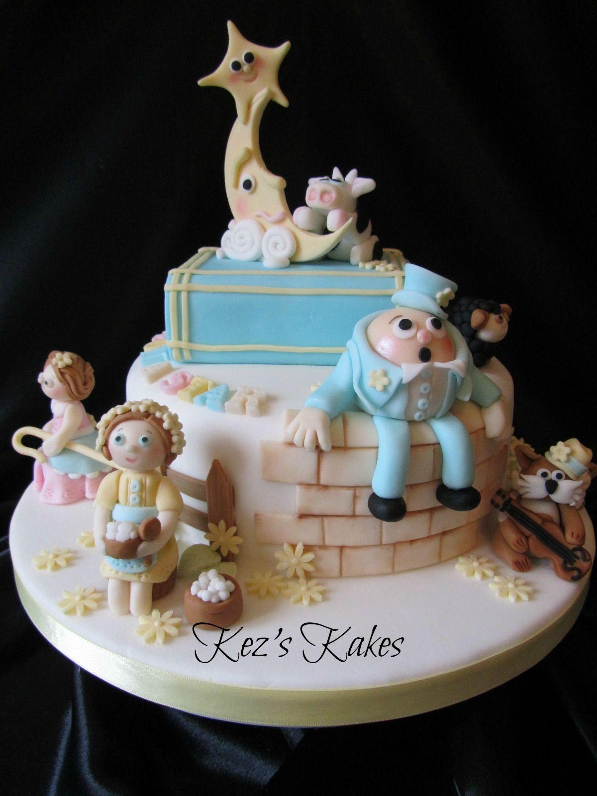Nursery Rhymes Cake Birthday Cake Kids Kids Cake 1st Birthday
