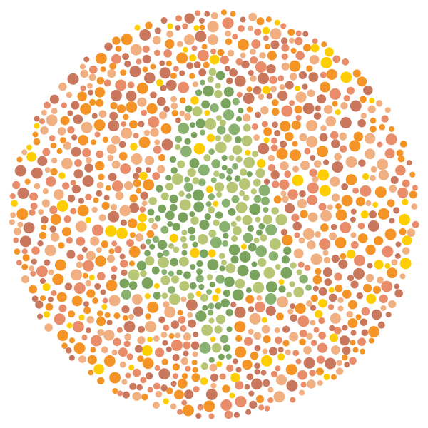 Image result for simple color blind test  misc  Pinterest