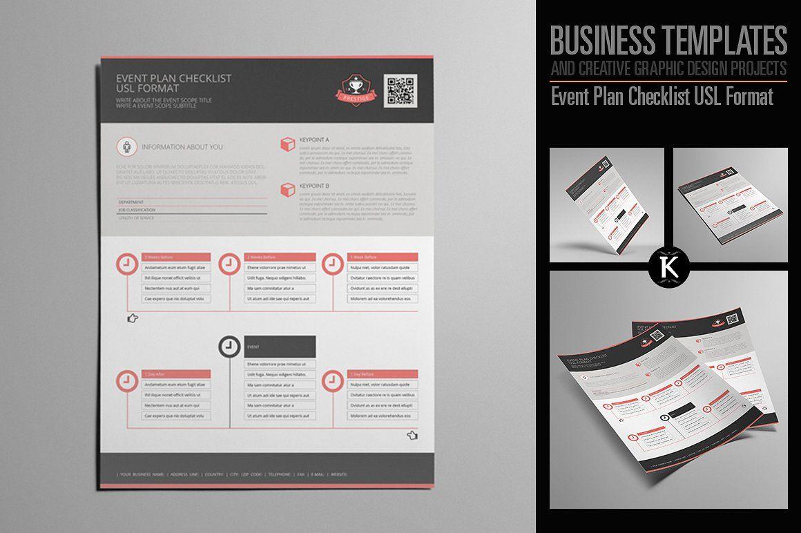 Event Plan Checklist USL Format Event planning checklist