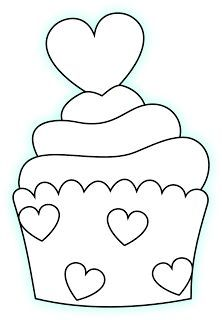 Little Scraps Of Heaven Designs Google Search Cupcake Drawing Embroidery Patterns Applique Templates