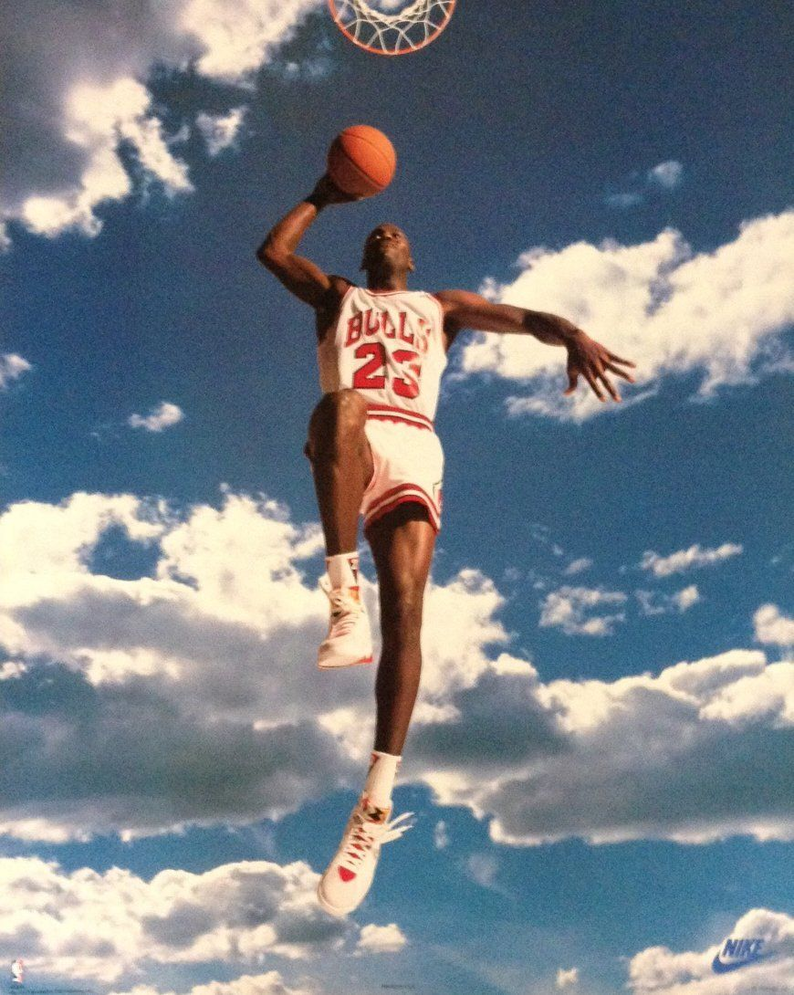 Michael Jordan Sky Poster Click For Details See More Sports