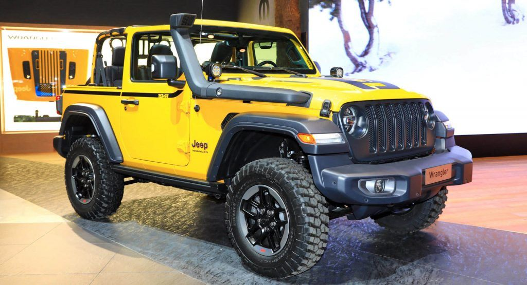 Jeep Wrangler Rubicon 1941 Can Almost Be Your Yellow Submarine