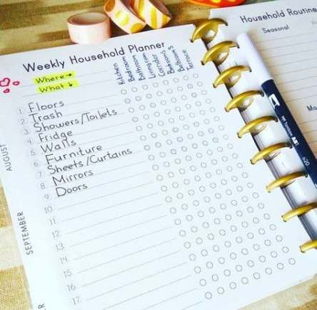 Fitness planner printable mom 25 ideas #fitness