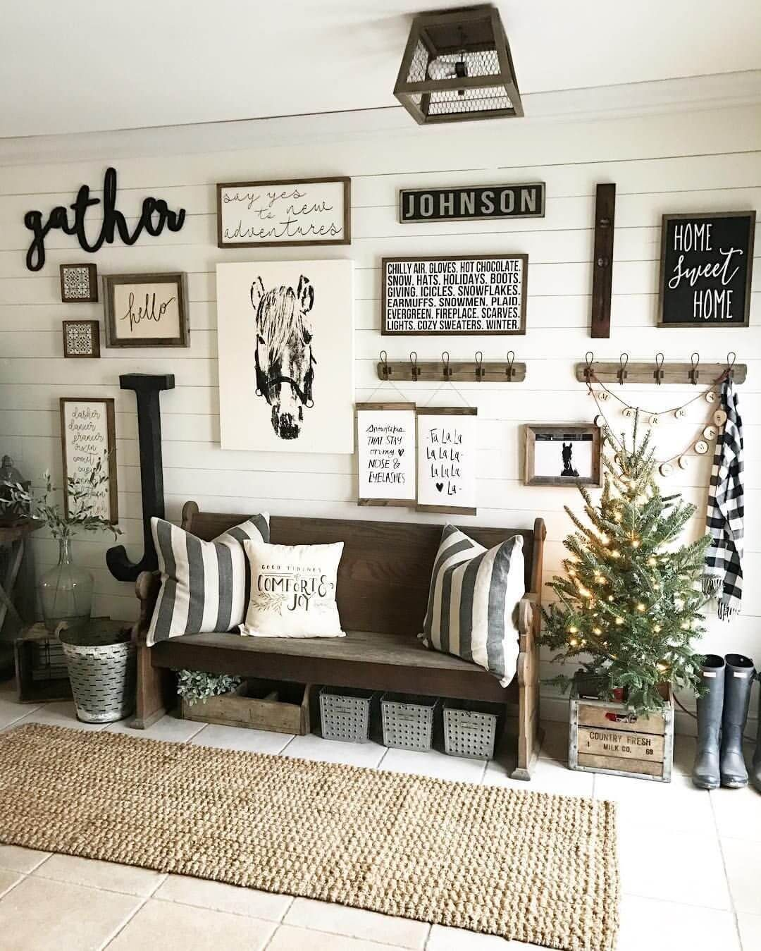 Pin By Linda Brunella S Blog Page On Deko 2 In 2021 Farm House Living Room Home Farmhouse Wall Decor