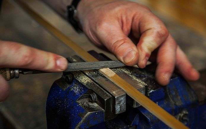 Merchant & Makers exclusive interview with Edward Barder from The Edward Barder Rod Company, exploring the craft of split cane rod-making.