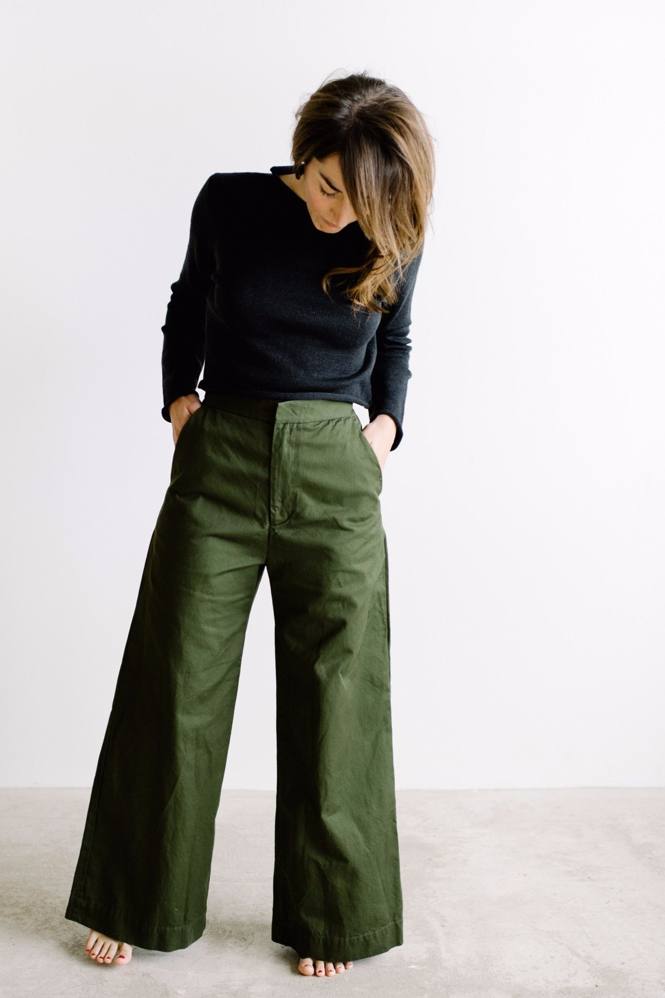 alex wide leg pant  olive  green pants outfit wide
