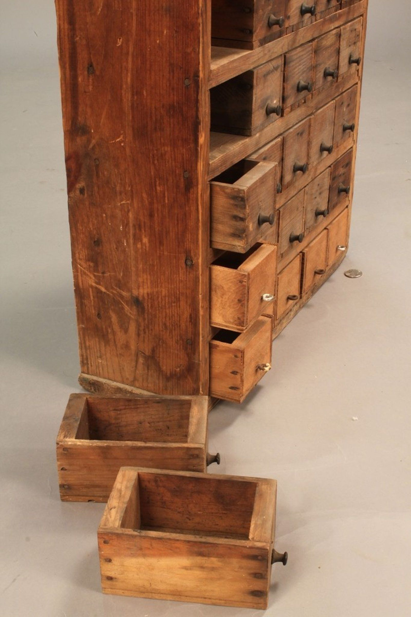 Detail Drawer Construction