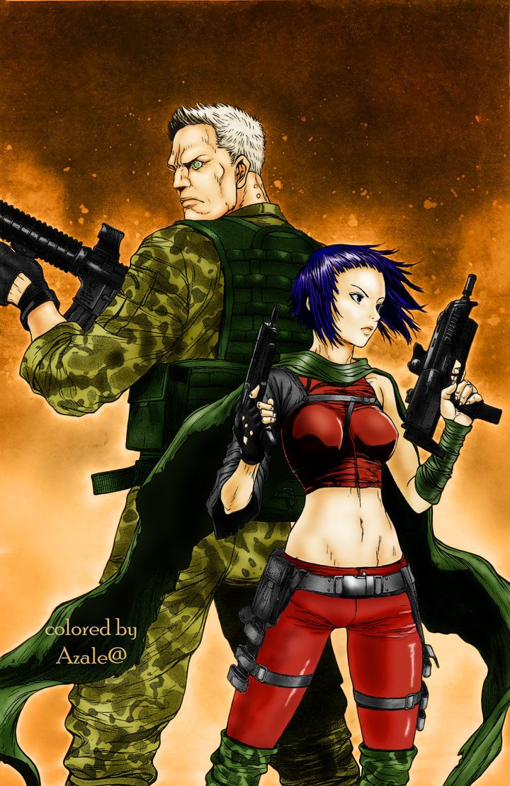 Ghost In The Shell Arise Motoko And Batou By Azalea92 On Deviantart Ghost In The Shell Anime Family Ghost