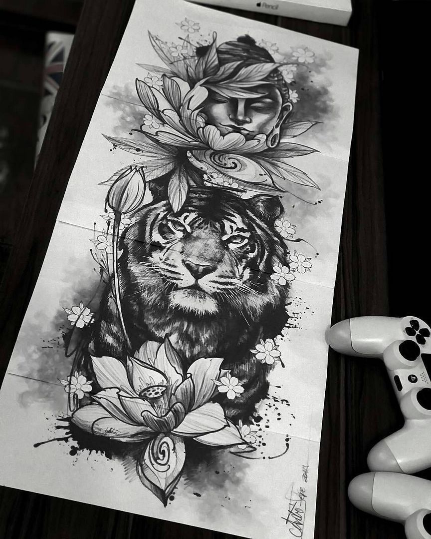 70+ Simply of Beautiful Flower Tattoo Drawing Ideas for