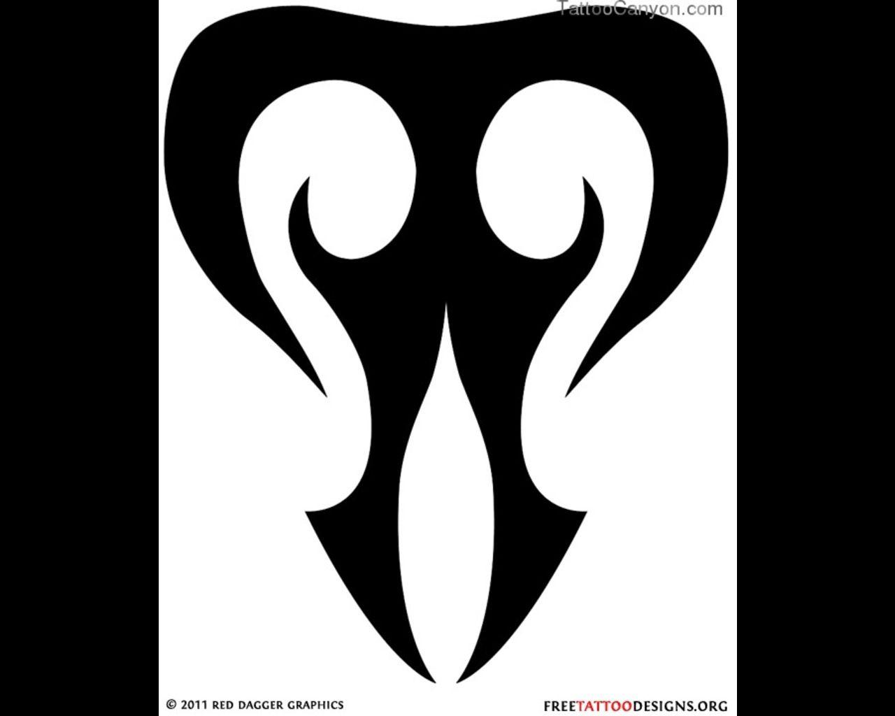 Pin 14787 Tribal Taurus Tattoo Designs Zodiac Symbol Tattoos Design