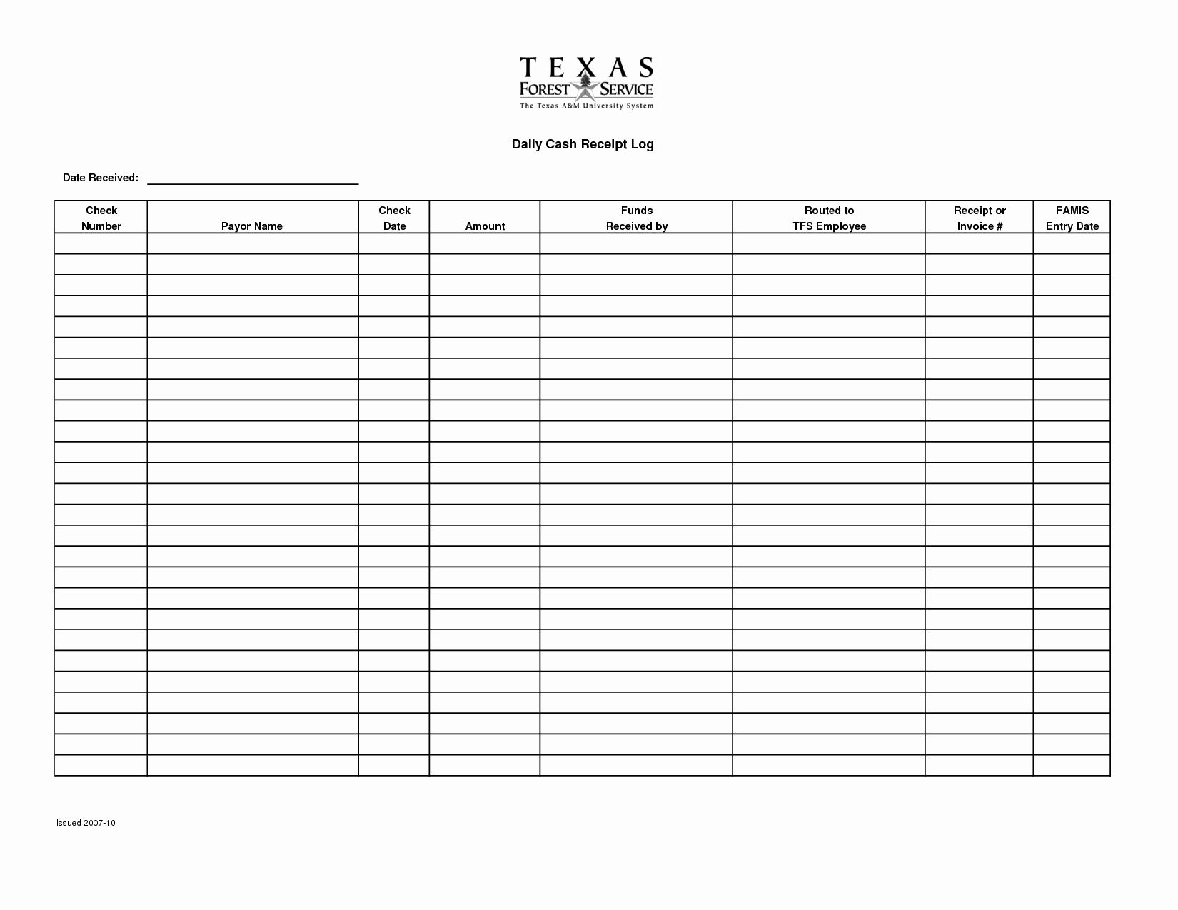 Printable Cash Receipt Receipt Template Weekly Schedule Template Excel Sign In Sheet Template