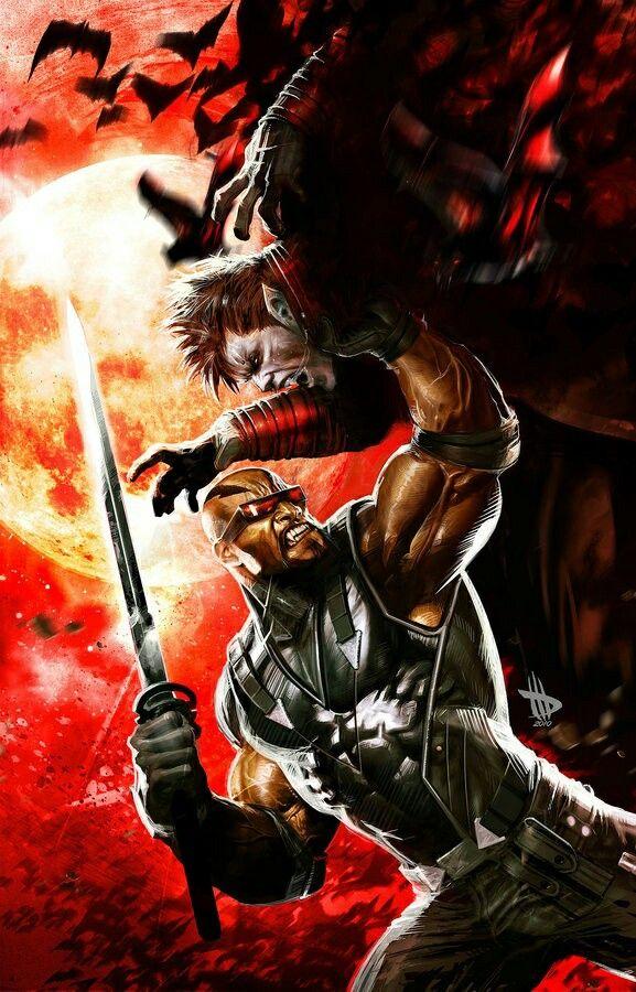Marvel's, Blade, ( Animated ) Dracula, Marvel comics en
