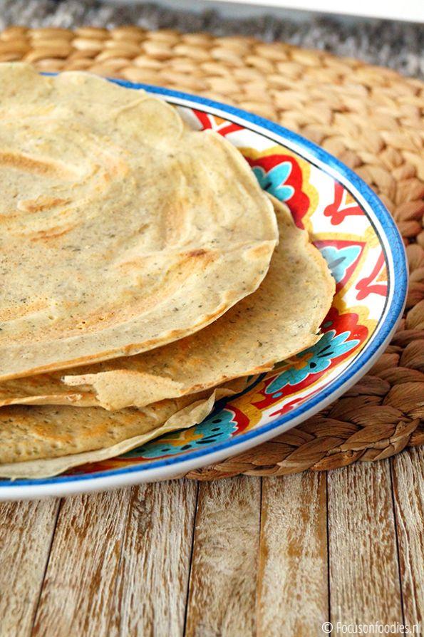 glutenvrije wraps met boekweitmeel