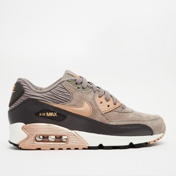 huge selection of 4e66b ad909 Nike Air Max 90 sneakers Rose gold bronze and Grey REAL PHOTOS COMING SOON!