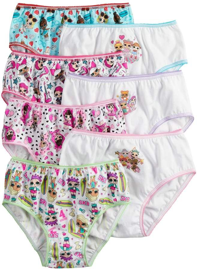 TDP LOL Doll Surprise Character Pants Briefs 3 Pairs