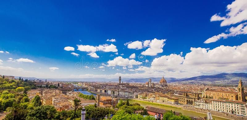 Firenze Panorama di Firenze estate 2017