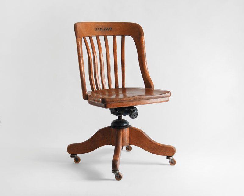 Vintage wooden office chair Swivel Vintage Oak Office Chair Wood Mid Century Lounge Dining Modern Retro 18500 Via Etsy Pinterest Vintage Oak Office Chair Wood Mid Century Lounge Dining Modern