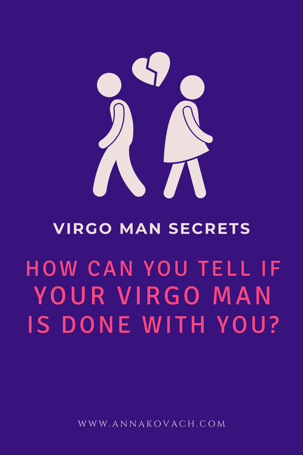 How Can You Tell if Your Virgo Man Is Done With You