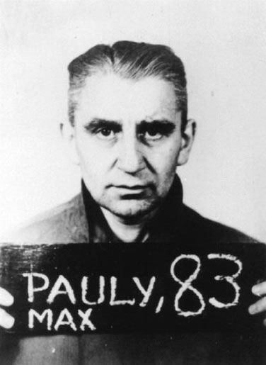 Max Pauly was tried by the British for war crimes with thirteen others in the Curio Haus in Hamburg which was located in the British occupied sector of Germany. The trial lasted from March 18, 1946 to May 13, 1946. He was found guilty and sentenced to death with 11 other defendants. He was never tried for the crimes committed at Stutthof. Pauly was executed by hanging (Tod durch den Strang) by Albert Pierrepoint in Hamelin prison on October 8, 1946.