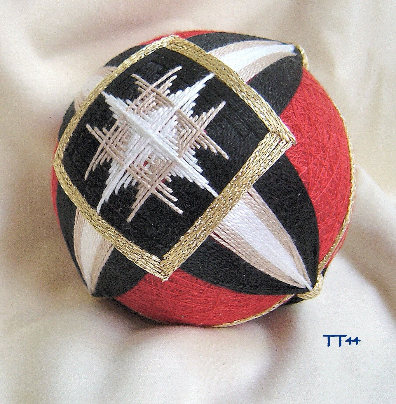 Temari Creations are all unique, no two are ever alike. Their craftsmanship is superb.
