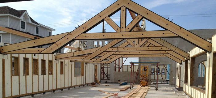 Timber Trusses And Custom Corbels American Pole And